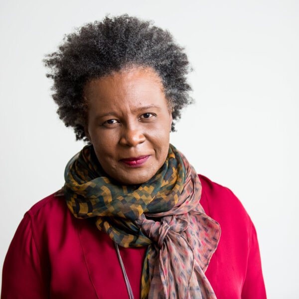 Portrait of Claudia Rankine who was a speaker in the Phil Lind Initiative 2020: Thinking While Black series.