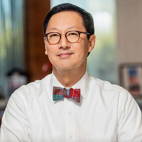 Portrait of Santa J. Ono, President and Vice-Chancellor of the University of British Columbia.